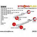 Strongflex länkagebussning främre oval BMW