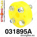 Steering column flexible coupler