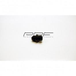 AN10 - M22x1,5mm adapter svart