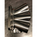 Billet collector 6-cyl T3