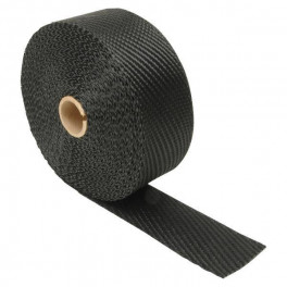 Avgasbandage 50mm x15m black titanium