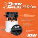 X2 Series Fuel Pump Module for 2010-15 Camaro LS 3.7 V6/ SS LS3 6.2