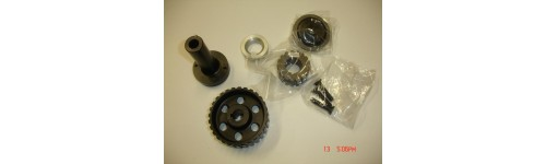 Universal crank pulley kit